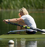 Caversham, GREAT BRITAIN, GBR M4-, Andy TRIGGS HODGE, Sculling Training session, on the Redgrave Pinsent. GB Rowing Training Base, Reading.      [Mandatory Credit, Peter Spurier/ Intersport Images]. , Rowing course: GB Rowing Training Complex, Redgrave Pinsent Lake, Caversham, Reading