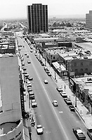 1976 Looking south on Cahuenga Blvd. from Hollywood Blvd.