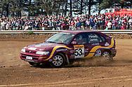 Ashlea James & Paul Flintoft – Toyota Corolla  - Saxon Safari Tasmania - ARC- 11th-12th September 1999