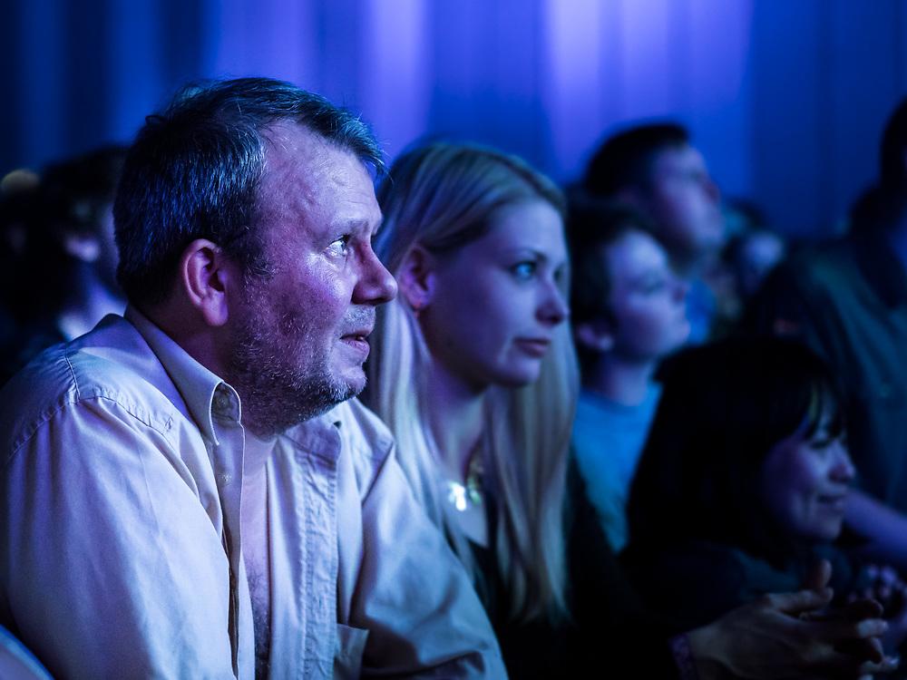 Audience of American singer-songwriter Ariel Pink at Iceland Airwaves