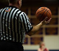 Varsity basketball Gilford versus Belmont NHIAA Division III tournament.  Karen Bobotas for the Laconia Daily Sun