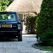 NLD/Laren/20080524 - Sander Vahle op bezoek bij partner Heleen Kolff
