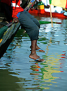 Fishing in the Senegal River
