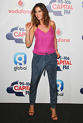 © London News Pictures. Lisa Snowdon, Capital FM Summertime Ball, Wembley Stadium, London UK, 06 June 2015, Photo by Brett D. Cove /LNP
