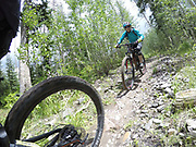 SHOT 8/5/17 2:32:39 PM - GoPro Hero 5 photos while riding Brian Head Resort in Brian Head, Utah with Vesta Lingvyte of Denver, Co. (Photo by Marc Piscotty / © 2017)
