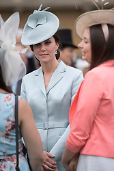 May 16, 2017 - London, London, United Kingdom - Image ©Licensed to i-Images Picture Agency. 16/05/2017. London, United Kingdom. The Duchess of Cambridge at a Garden party at Buckingham Palace in London. Picture by ROTA  / i-Images UK OUT FOR 28 DAYS (Credit Image: © Rota/i-Images via ZUMA Press)