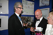 Piers Gough and Nigel Coates, Royal Academy Annual Dinner. Piccadilly. London. 5 June 2007.  -DO NOT ARCHIVE-© Copyright Photograph by Dafydd Jones. 248 Clapham Rd. London SW9 0PZ. Tel 0207 820 0771. www.dafjones.com.