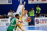 Stojanovic Vojislav<br /> Betaland Capo d'Orlando - Sidigas Avellino <br /> Campionato Basket Lega A 2017-18 <br /> Capo d'Orlando 22/04/2018<br /> Foto Ciamillo-Castoria