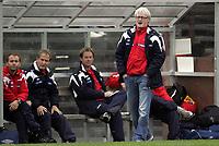 Fotball<br /> Landskamp G15<br /> Sverige v Norge 0:3<br /> Arvika<br /> 23.09.2010<br /> Foto: Morten Olsen, Digitalsport<br /> <br /> Landslagssjef Bård Flovik