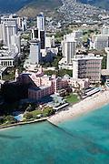 Royal Hawaiian Hotel, Waikiki Beach, Waikiki, Oahu, Hawaii<br />