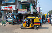 Street life at Patariya Market, Jabalpur, Madhya Pradesh, India.