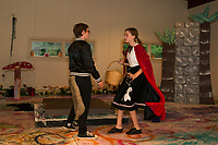 """Streetcar Kids and Youth Theater (SKYT) during dress rehearsal for """"Into The Woods"""" at the Gilford Methodist Church.  Karen Bobotas for the Laconia Daily Sun"""