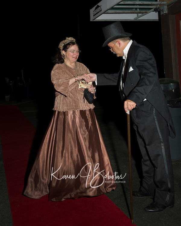 An evening aboard the Titanic with Winnipesaukee Playhouse at Gunstock Saturday, September 22, 2012.