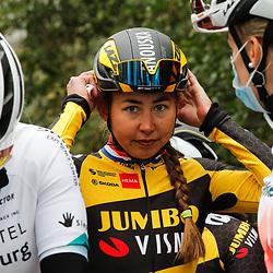27-02-2021: Wielrennen: Omloop Het Nieuwsblad - Vrouwen: Gent<br />Anouska Koster