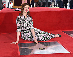 Anne Hathaway Hollywood Walk of Fame Ceremony - 09 May 2019