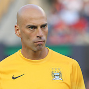 Goalkeeper Wilfredo Caballero, Manchester City, during the Manchester City Vs Liverpool FC Guinness International Champions Cup match at Yankee Stadium, The Bronx, New York, USA. 30th July 2014. Photo Tim Clayton