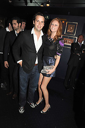CHARLIE GILKES and OLIVIA INGE at the Tatler Magazine Little Black Book party at Tramp, 40 Jermyn Street, London SW1 on 5th November 2008.