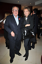 LORD & LADY RATHCAVAN at a screening of the short film 'The Volunteer' held at the Courthouse Hilton Hotel, 19-21 Great Marlborough Street, London W1 on 26th October 2009.