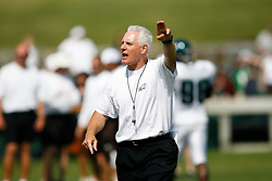 Philadelphia Eagles Special Teams Coach Ted Daisher during the Philadelphia Eagles NFL training camp in Bethlehem, Pennsylvania at Lehigh University on Saturday August 8th 2009. (Photo by Brian Garfinkel)