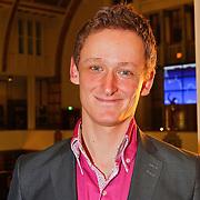 NLD/Amsterdam/20110125 - Opening Amsterdamse Effectenbeurs door cast Legally Blond, Joey Schalker