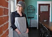 Donna Picard chef/owner of Maison de Manger on Thursday, March 9, 2017. <br /> <br /> <br /> <br /> [T&G Staff/Christine Hochkeppel]