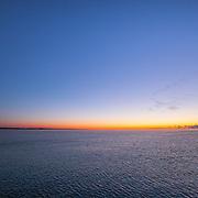 Today's frigid Winter Sunrise  at Narragansett Town Beach, Narragansett, RI,  January  24, 2013. Photo: Tripp Burman