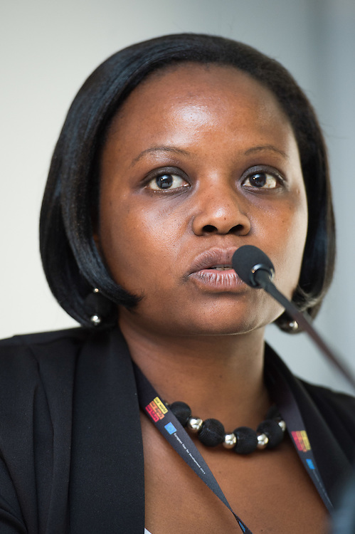 03 June 2015 - Belgium - Brussels - European Development Days - EDD - Health - Combating poverty-related and neglected infectious diseases - Annet Nanvubya<br /> Clinical Trials' Manager, Uganda Virus Research Institute - International AIDS Vaccine Initiative, Uganda© European Union