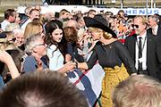 Zijne Majesteit Koning Willem-Alexander en Hare Majesteit Koningin Máxima brengen een werkbezoek aan de Duitse deelstaten Rijnland-Palts en Saarland.<br /> <br /> His Majesty King Willem-Alexander and Her Majesty Queen Máxima paid a working visit to the German federal states of Rhineland-Palatinate and Saarland.<br /> <br /> op de foto / On the Photo:   Koning Willem-Alexander en koningin Maxima tijdens een boottocht over de Rijn van Oberwesel naar Boppard /// King Willem-Alexander and Queen Maxima during a boat trip on the Rhine from Oberwesel to Boppard