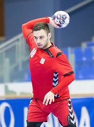 07.01.2017, BSFZ Suedstadt, Maria Enzersdorf, AUT, IHF Junior WM 2017 Qualifikation, Österreich vs Tschechische Republik, im Bild Vit Kucera (CZE) // during the IHF Men's Junior World Championships qualifying match between Austria and Czech Republic at the BSFZ Suedstadt, Maria Enzersdorf, Austria on 2017/01/07, EXPA Pictures © 2017, PhotoCredit: EXPA/ Sebastian Pucher