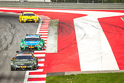 03.08.2014, Red Bull Ring, Spielberg, AUT, DTM Red Bull Ring, Renntag, im Bild Robert Wickens, (CAN,1. Platz Qualifying, FREE MAN'S WORLD Mercedes AMG C-Coupe), Timo Glock, (GER, 3. Platz, Rennen, Deutsche Post BMW M4 DTM), Augusto Farfus, (BRA, 2. Platz, Rennen, Castrol EDGE BMW M4 DTM) // during the DTM Championships 2014 at the Red Bull Ring in Spielberg, Austria, 2014/08/03, EXPA Pictures © 2014, PhotoCredit: EXPA/ M.Kuhnke