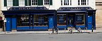 Blackwells Bookshop oxford during lockdown 2020 photo by Brian Jordan