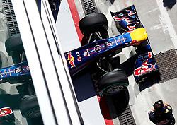 FORMEL 1: GP von Italien, Monza, 10.09.2010<br /> Bolide von Sebastian VETTEL (GER, Red Bull Racing), Illustration<br /> © pixathlon