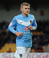 Football : Barnet v Oxford United FA Cup 1st rd 03/11/2012.<br /> Credit : Andrew Cowie / Colorsport<br /> Alfie Potter - Oxford