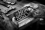 Domino is the national sport in Cuba. During the evenings this game is played on any available table out on the street.