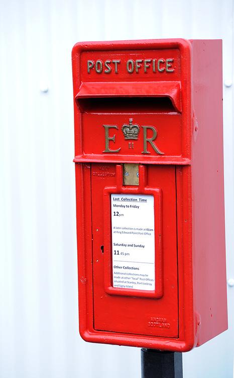Post box outside the Post Office   Grytviken. South Georgia 20Feb16