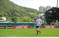 30 May 2013; Paul O'Connell, British & Irish Lions, during squad training ahead of their game against Barbarian FC on Saturday. British & Irish Lions Tour 2013, Squad Training, Aberdeen Sports Ground, Aberdeen, Hong Kong, China. Picture credit: Stephen McCarthy / SPORTSFILE