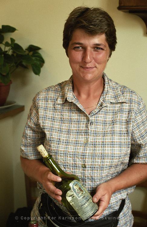 Amelie Guillot, winemaker, Domaine Amélie Guillot, Jura, France