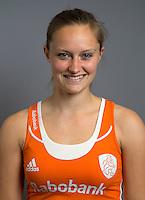 ARNHEM - Kelly Jonker. Nederlands Hockeyteam dames voor Wereldkamioenschappen hockey 2014. FOTO KOEN SUYK