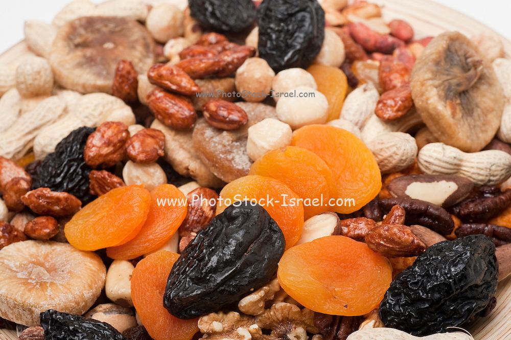 An Assortment of dried fruit
