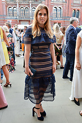 Princess Beatrice Of York at the V&A Summer Party 2017 held at the Victoria & Albert Museum, London England. 21 June 2017.