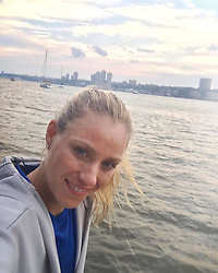 """Angelique Kerber releases a photo on Instagram with the following caption: """"Hey there #NewYork\ud83d\uddfdThis city brings back so many memories \ud83e\udd17\ud83d\ude18! #TeamAngie #USOpen"""". Photo Credit: Instagram *** No USA Distribution *** For Editorial Use Only *** Not to be Published in Books or Photo Books ***  Please note: Fees charged by the agency are for the agency's services only, and do not, nor are they intended to, convey to the user any ownership of Copyright or License in the material. The agency does not claim any ownership including but not limited to Copyright or License in the attached material. By publishing this material you expressly agree to indemnify and to hold the agency and its directors, shareholders and employees harmless from any loss, claims, damages, demands, expenses (including legal fees), or any causes of action or allegation against the agency arising out of or connected in any way with publication of the material."""