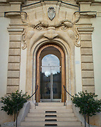 Exotic Roman Doorway at the Palazzo Zuccari, Rome, Italy
