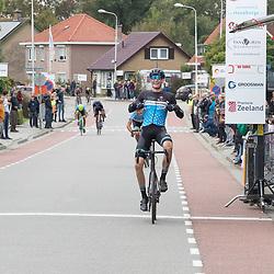 Philippine (NED) CYCLING OCTBER 17<br /> Omloop van de Braakman<br /> Roel van Sint Maartensdijk wint de 52e editie