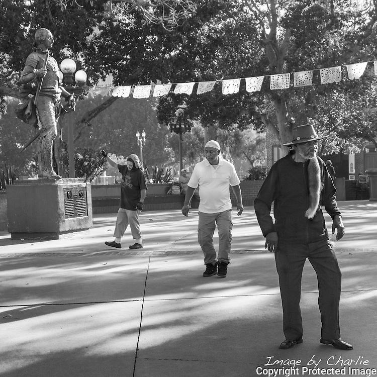 Four Men Dancing