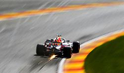 August 24, 2018 - Spa-Francorchamps, Belgium - Motorsports: FIA Formula One World Championship 2018, Grand Prix of Belgium, .#3 Daniel Ricciardo (AUS, Aston Martin Red Bull Racing) (Credit Image: © Hoch Zwei via ZUMA Wire)