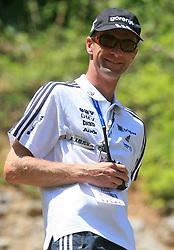 Slovenian coach Matjaz Zupan at FIS Continental cup Ski-jumping Summer Kranj, on July 6, 2008, Kranj, Slovenia. (Photo by Vid Ponikvar / Sportal Images)<br /> <br /> / Sportida)