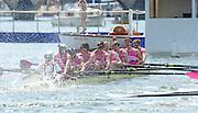 Henley on Thames. United Kingdom.  Abingdon School<br /> beat St. Edward's School  2013 Henley Royal Regatta, Henley Reach. 12:48:03  Sunday  07/07/2013  [Mandatory Credit Peter Spurrier/ Intersport Images]