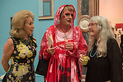 DAME WOLFSON, OF MARYLEBONE GRAYSON PERRY, MARY BEARD RA Annual dinner 2018. Piccadilly, 5 June 2018.