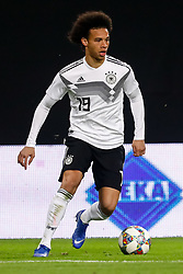 November 15, 2018 - Leipzig, Germany - Leroy Sane of Germany in action during the international friendly match between Germany and Russia on November 15, 2018 at Red Bull Arena in Leipzig, Germany. (Credit Image: © Mike Kireev/NurPhoto via ZUMA Press)