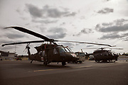 Black Hawk and Lakota at Warbirds Over the West.